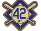 Jackie Robinson Day uniform patch.