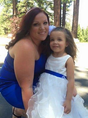 Nikkie Holliday and her daughter