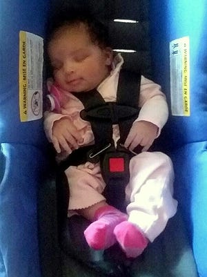 Authorities are looking for 15-day-old infant Gionna K. Harter, missing from Montour Falls.