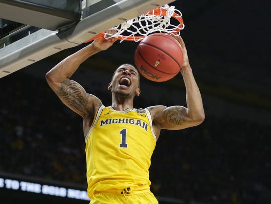 March 31, 2018 – U-M vs. Loyola:  Michigan guard Charles