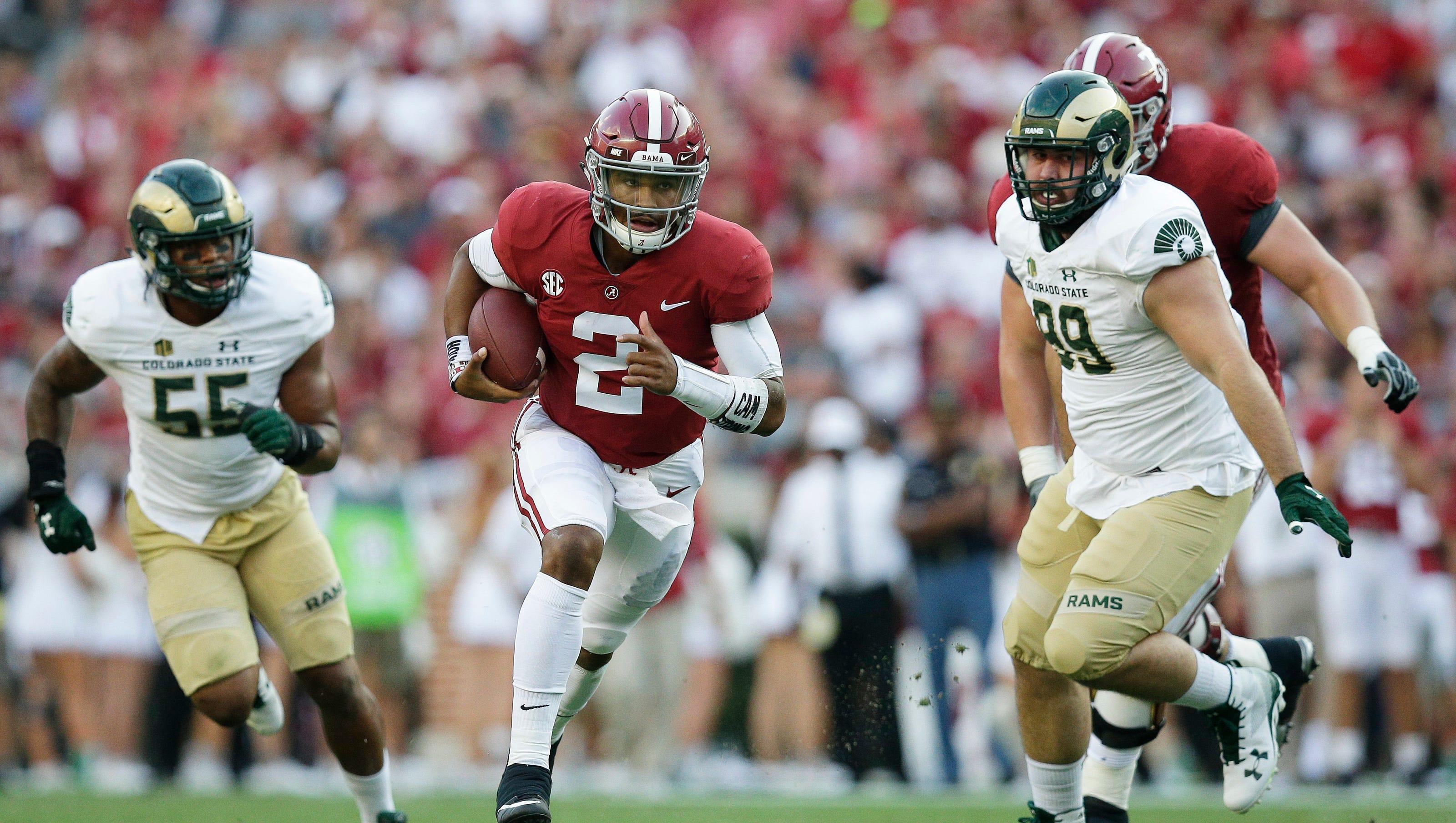 Csu Football Earns A C Minus In Loss At Alabama
