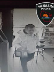 "The suspect in the ""smash and grab"" at JS Foods on"
