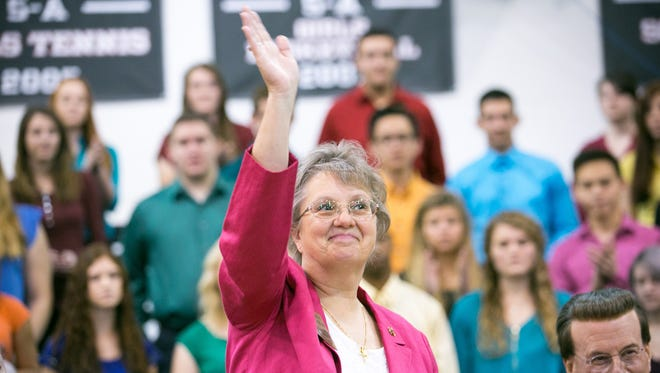 The Year of Diane Douglas: She flew under the radar in 2014 while campaigning to become the state's top education official, but the public eye wouldn't escape Diane Douglas in 2015.  Douglas caught Arizona's attention early on in her first year as state superintendent of public instruction after feuding with the governor and Board of Education President Greg Miller.   In her first year, Douglas and the Board of Education have traded lawsuits over who has authority over the board's staff and access to information needed to investigate misconduct allegations against teachers.  Douglas, who is facing a recall effort, staunchly opposes Arizona's College and Career Ready Standards, formerly known as Common Core. Her first year in office has included efforts to replace the standards with state-based standards she said would be tougher and better for Arizona's students.
