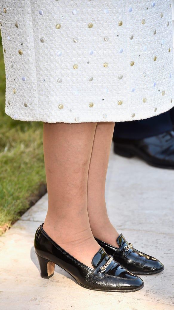 Queen's shoes