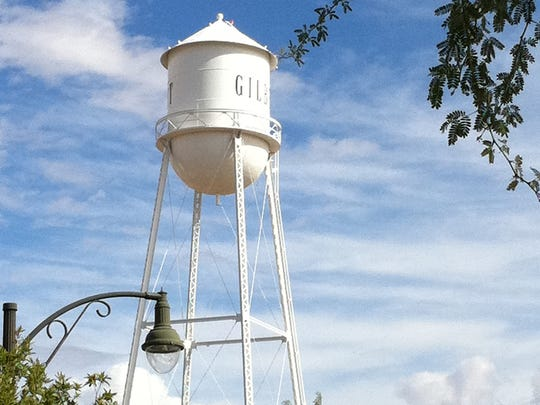 The Gilbert water tower is an enduring landmark of