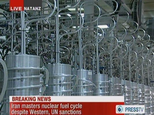 Iran centrifuges