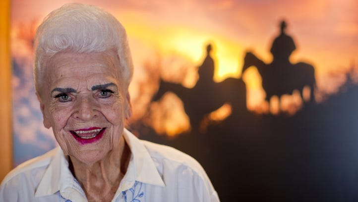 Former Arizona Gov. Rose Mofford, in this 2010 photo,