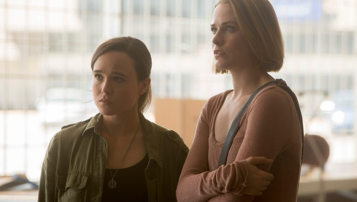 """Ellen Page and Evan Rachel Wood star as sisters who have to survive an apocalyptic blackout in """"Into the Forest."""""""