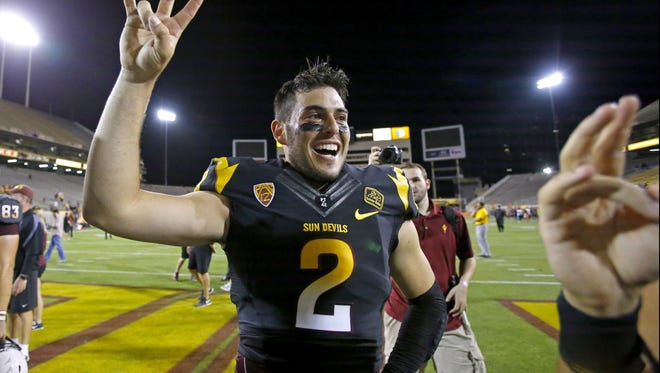 The ASU football team has been picked to finish second in the Pac-12 South in the Pac-12 preseason football media poll.