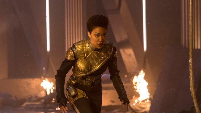 Sonequa Martin-Green as Michael in 'Star Trek: Discovery.'