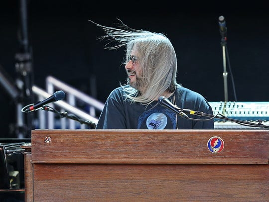 Keyboardist Jeff Chimenti, pictured performing with