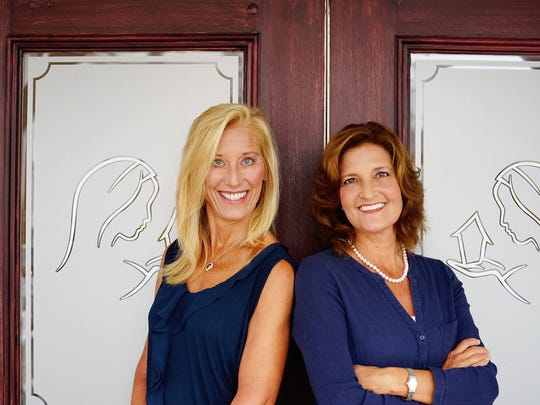 Maria McKeon, vice president and co-founder, and Michele