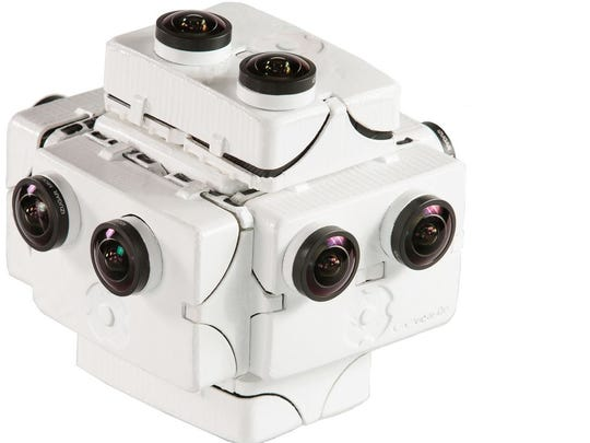 SpaceVR's specially designed camera called Overview