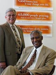 The Rev. Larry Davis (left) and the Rev. Damon Lynch,