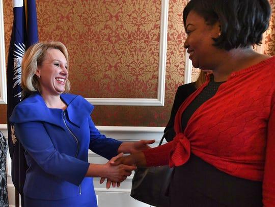 South Carolina gubernatorial candidate Catherine Templeton,
