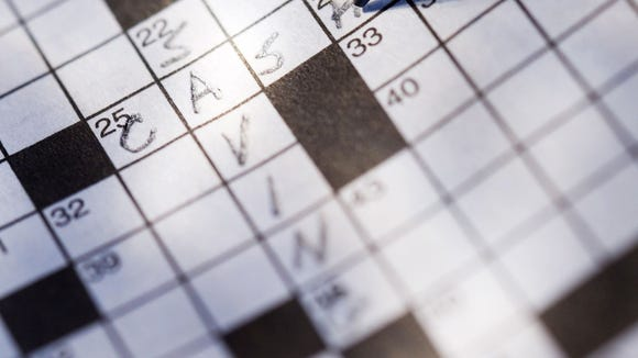 Get a clue: Newspaper crossword puzzles have been around since 1913.