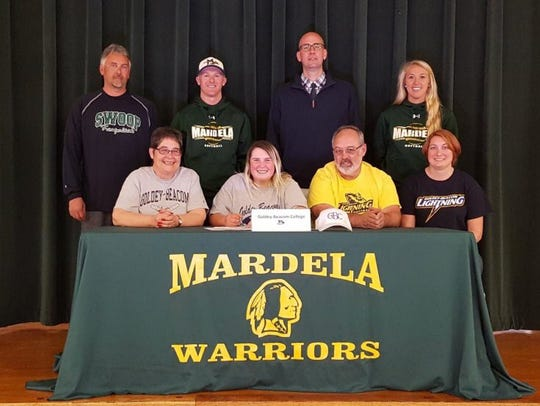 Next to friends, family and coaches, Kasey Goshorn