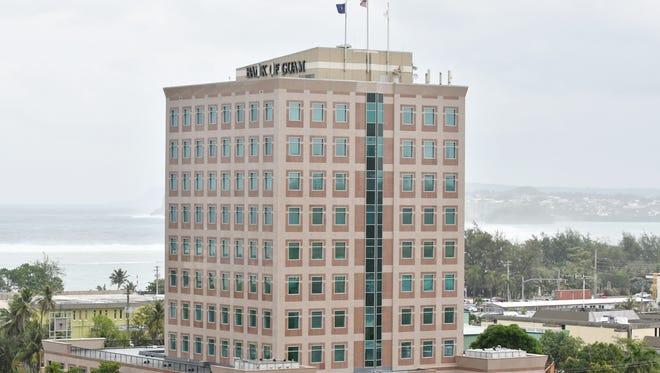 Bank of Guam's Hagåtña headquarters.