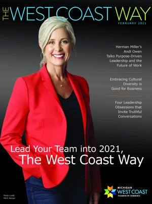 The Michigan West Coast Chamber of Commerce has launched a new magazine centered around its core values.
