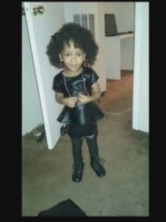 Neveah Hall before her visit to Diamond Dental in Houston.