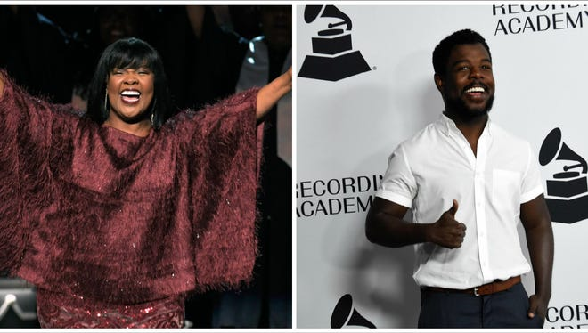 Gospel star CeCe Winans and her son, Alvin Love III, are nominated together at the Grammys