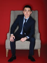 Yerzhan Nauruzbayev in the studio on Friday, Dec. 12,