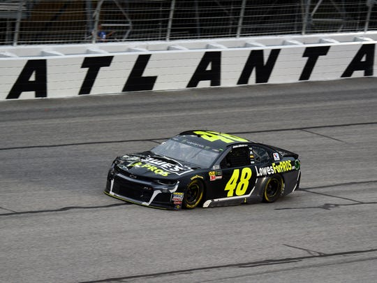 Monster Energy NASCAR Cup Series driver Jimmie Johnson