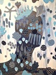 "Chloe York, ""Washy Decorator 2,"" 2018, acrylic on canvas,"