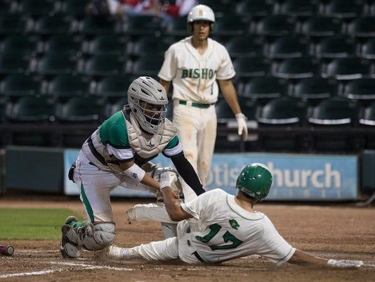 Bishop vs. Banquete baseball game