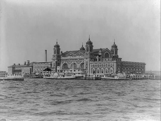 Ellis Island was designed in the Beaux-Arts style.