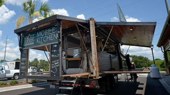 The Whole Foods Market Mobile Kitchen in Savannah.