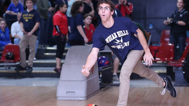 Senior Jon Mormando and the Indian Hills boys bowling team are setting their sights on the defense of several titles this winter.