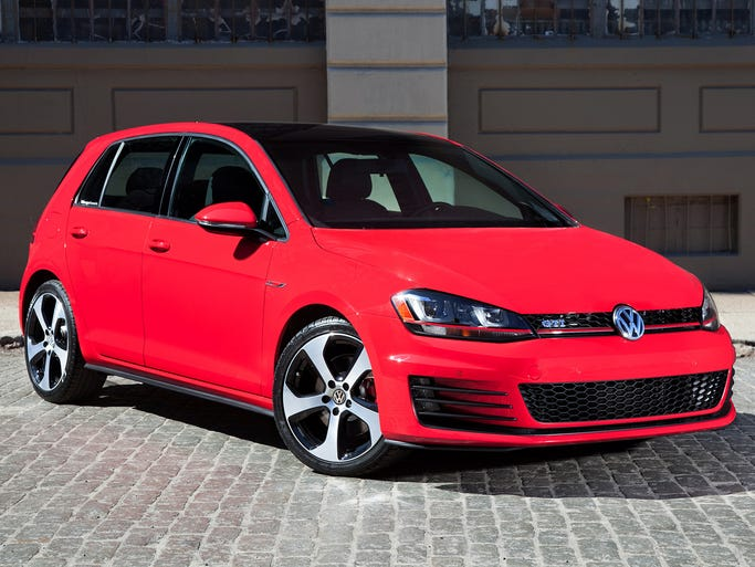 The 2015 GTI is wrapped in sheetmetal that is totally