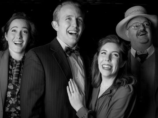 """Brigham's Playhouse's production of """"It's a Wonderful Life"""" plays six days a week until Jan. 2."""