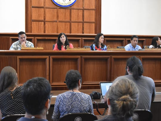 A public hearing on a resolution to halt the planned
