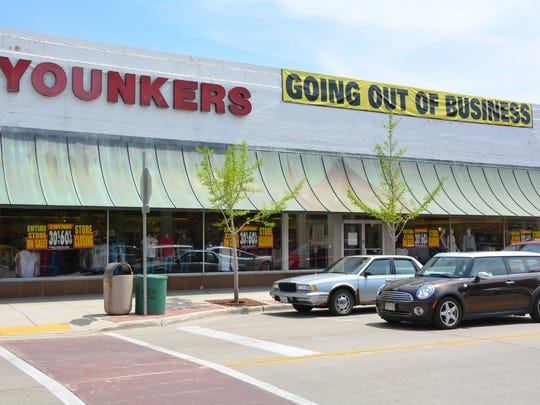 The Sturgeon Bay Younkers store before it closed in 2017. The site had been a department store since 1870.