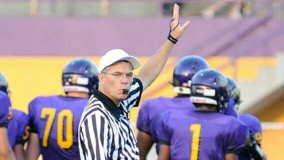 Rick Frank, president-elect of the Indiana Officials Association, supports a bill to increase the penalty for battery to a felony, if it is committed against a working sports official.