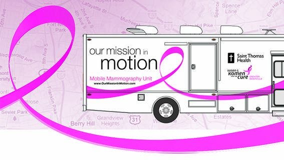 Mobile Mammogram Coach to make stop in Fairview May 24.