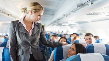 The in-flight crew is primarily concerned with the safety of passengers.