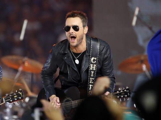 Eric Church performs at the Taste of Country festival