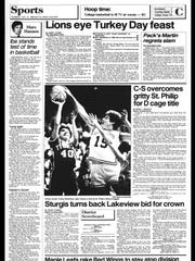 Battle Creek Sports History: Week of Nov. 25, 1986