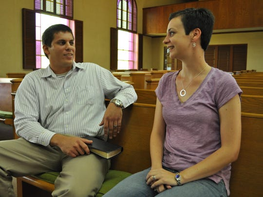 Patricia Gunter (right) is the first justice of the peace in Central Louisiana to resign over the U.S. Supreme Court's same-sex marriage ruling because she doesn't want to officiate at a same-sex wedding. Her husband, the Rev. Brian Gunter (left) of First Baptist Church in Pollock, supports her decision.