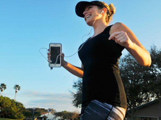 Samantha Ryan of Palm Bay enjoys running the Melbourne Causeway and listening to music.