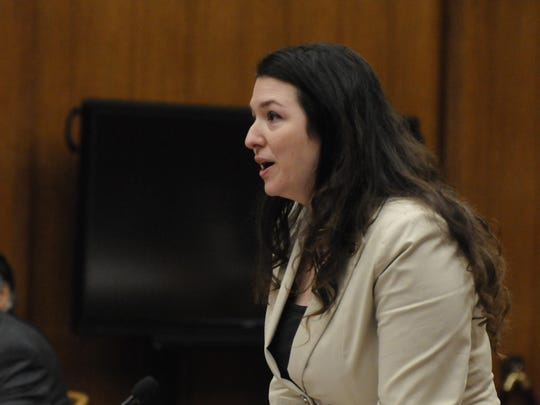 Assistant Prosecutor Kristin DeMarco describes the trauma endured by the doctor's victims.   The sentencing of Dr. Raja Jagtiani took place before Judge Margaret Foti, in the Bergen County Courthouse in Hackensack, on Friday, January 27, 12017.