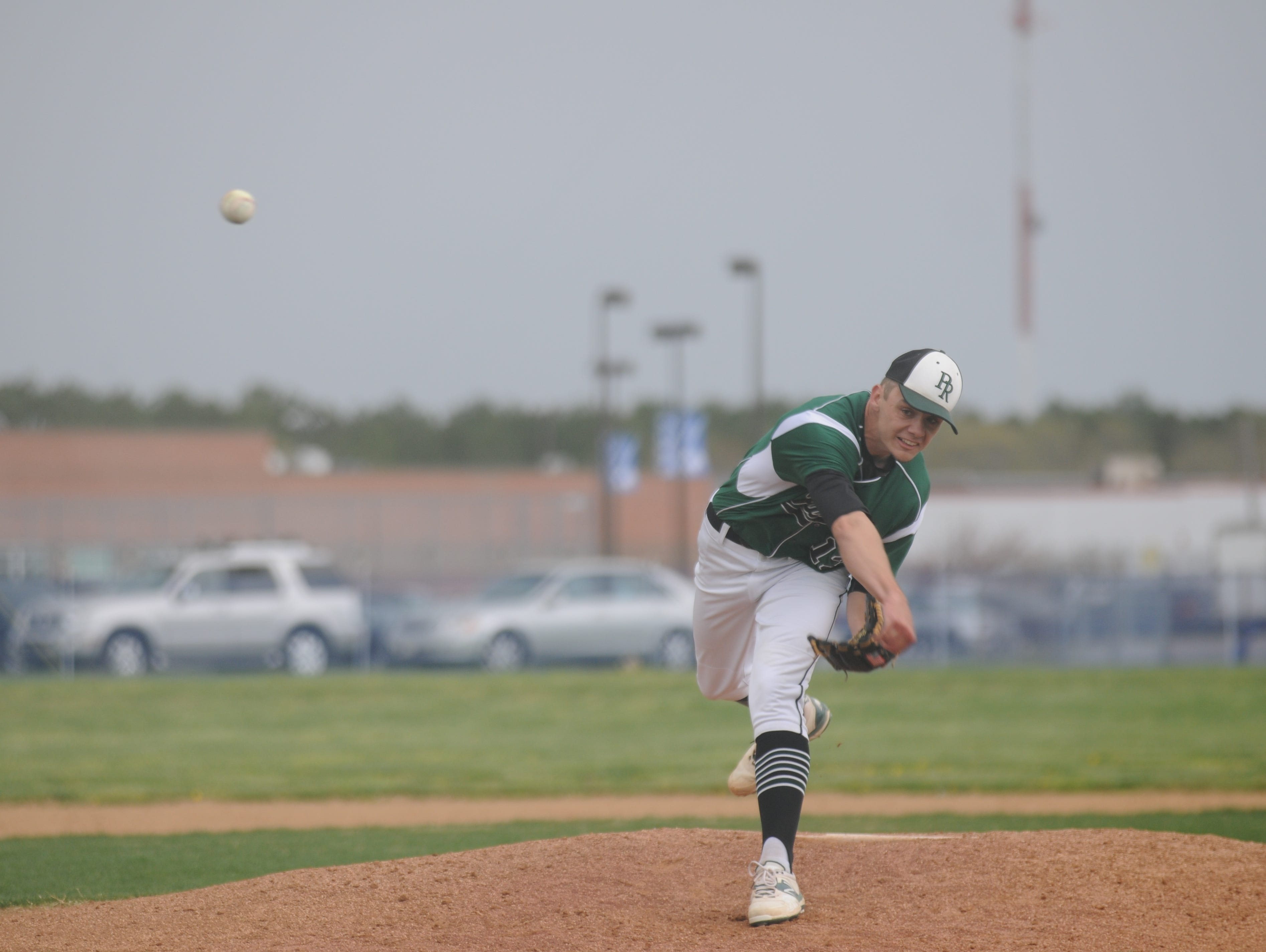 Parkside senior Hunter Parsons delivers a pitch against Stephen Decatur on Wednesday in Berlin.