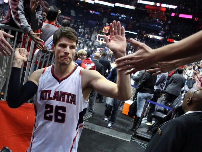 Hawks guard Kyle Korver has become the NBA's best shooter