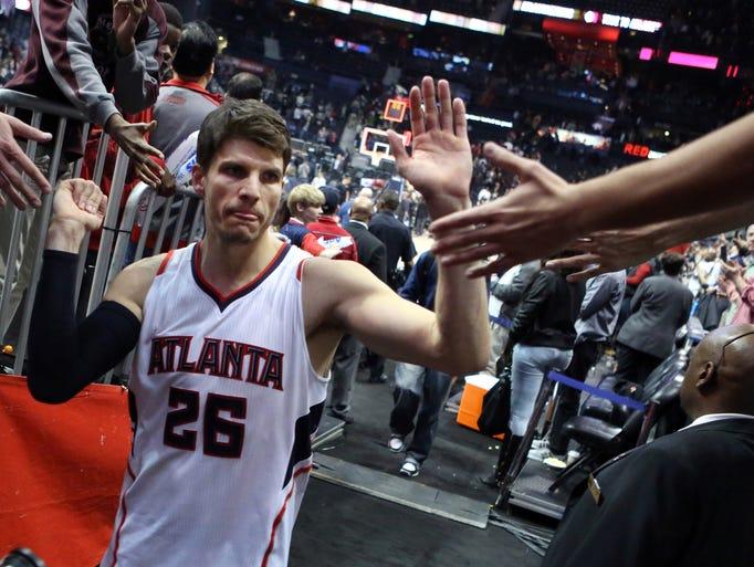 Hawks guard Kyle Korver has become the NBA's best shooter