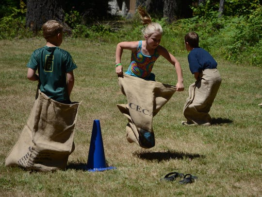 Kids can join in on old-fashioned games at Silver Falls Days 10 a.m. to 4 p.m. Saturday, June 11, and Sunday, June 12.