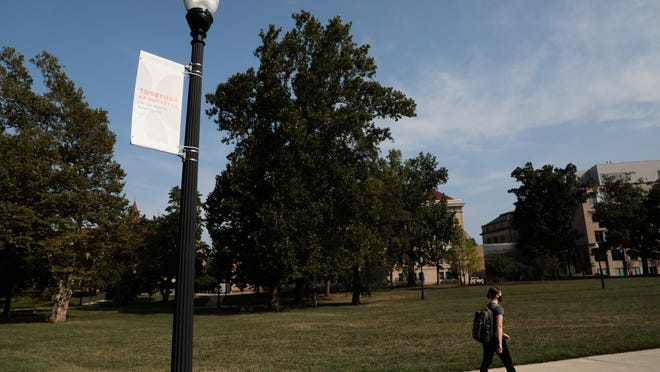Tuesday was the first day of fall classes on the campus of Ohio State University. Classes this semester are a mix of virtual and in-person instruction.