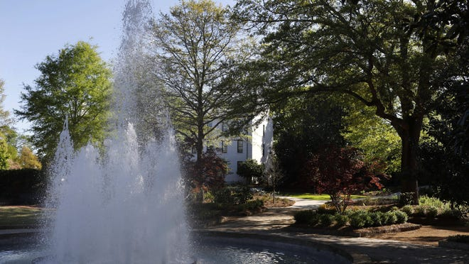 Herty Field on the campus of the University of Georgia on April 1, 2020. UGA moved all classes online in March for the latter part of the spring semester.